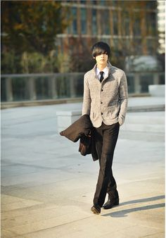 Shut up, I want him. I'm sorry, I love me some well-dressed Asian men. Don't even judge.