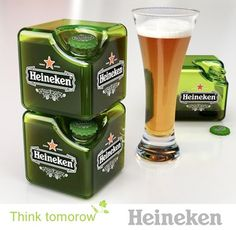 Trend to Come? Beer from a Square Bottle