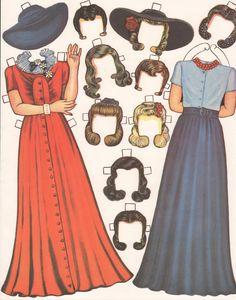 Kathleen Taylor's Dakota Dreams: Thursday Tab- Queen Holden Hair-Do Dolls
