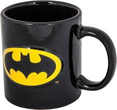Embossed Batman Mug