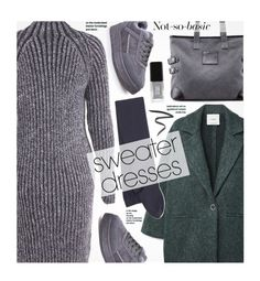 """""""Cozy and Cute: Sweater Dresses"""" by beebeely-look ❤ liked on Polyvore featuring MANGO, Marc Jacobs, Sternlein, JINsoon, casual, casualoutfit, sammydress, sweaterdresses and falldresses"""