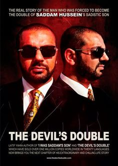 The Devil's Double (2011)  (Netflix stream) Dominic Cooper in dual role. Outstanding and a real surprise . *****