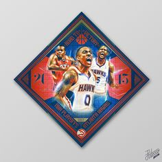 """2015 NBA Playoffs """"Collection"""" on Behance"""
