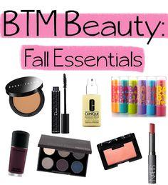 2013 fall essentials.......