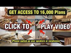 Teds Woodworking® - Woodworking Plans & Projects With Videos - Custom Carpentry Woodworking Projects Diy, Popular Woodworking, Woodworking Furniture, Diy Wood Projects, Teds Woodworking, Furniture Plans, Woodworking Books, Woodworking Basics, Woodworking Videos