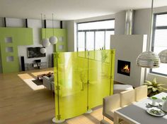 Decorating Studio Apartments Will Give Comfort And Increase Beauty To Your  Apartment : Striking Decorating Studio Apartments With Green Room.