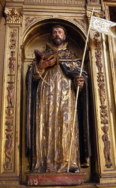 Juan de Oviedo, de 1.570, Convento Madre de Dios de la Piedad, Saint Dominic, Spiritual Practices, Buddha, Religion, Spirituality, Statue, Saints, Christianity, Temple