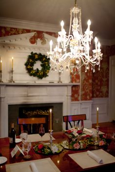 Virginia Bed and Breakfast, Virginia Inn, Romantic Inn Gloucester, VA Fine Dining Menu, Local Seafood, Living Magazine, Gloucester, Simple Elegance, Bed And Breakfast, Ancestry, Virginia, Chandelier
