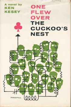 Methuen's 1962 edition of One Flew Over the Cuckoo's Nest by Ken Kesey.