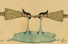 / Mel Kadel via It's Nice That. #illustration