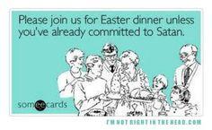 if it wasn't for the butter krak eggs i'd follow satan