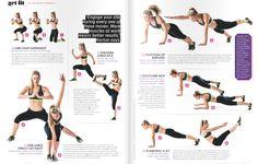 Tony Horton workout pt 2 from Shape mag, July '15