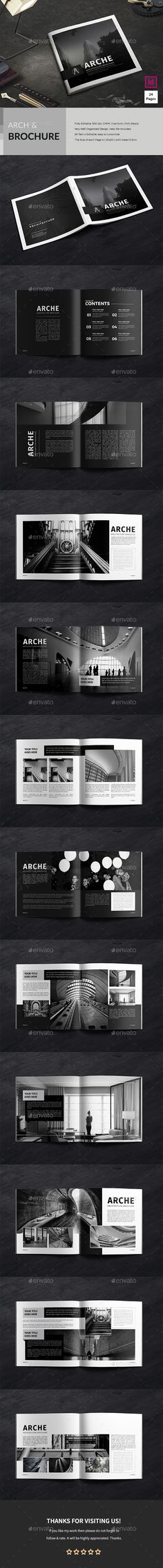 Architecture Brochure Template InDesign INDD
