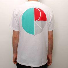Polar Skateboards Polar Fill Logo Skate T-Shirt - White - Polar Skateboards from Native Skate Store UK