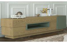 Banc TV en Bois Design Illusion - 162 à 205 cm - Decode