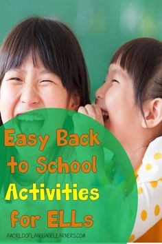 Learn easy back to school ideas to support your English Language Learners. This includes having students share an important object and review school rules. These activities will help ELLs have a great start to the year. Back To School Activities, School Ideas, Teaching Strategies, Teaching Ideas, School Routines, English Language Learners, Classroom Community, Student Engagement, New School Year
