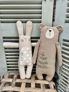 Handmade Stuffed Animals, Fabric Toys, Sewing Projects For Kids, Forest Friends, Sewing Toys, Felt Animals, Stuffed Toys Patterns, Handmade Toys, Diy For Kids