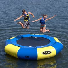 12 ft. RAVE Sports Aqua Jump Eclipse Water Trampoline Package - RSI336
