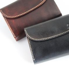 MOTO 手染め3つ折り LEATHER LONG WALLET W-6D