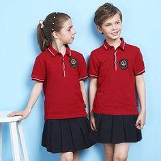 Red Primary School Uniforms Kids School Uniform Design picture from Guangzhou Boshi Apparel Co. view photo of School Uniform, School Uniform Shirts, School Skirts. School Uniform Outfits, School Uniforms, Boys Wearing Skirts, Teenager Mode, Man Skirt, Normal Guys, Transgender Girls, Cute Skirts, Men Dress