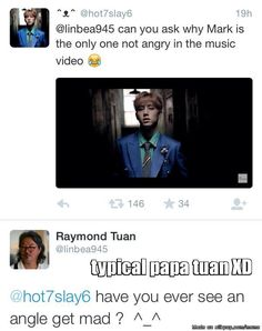 Meme Center | allkpop Papa Tuan either loves his boys or makes fun of his boys .. There is no in between