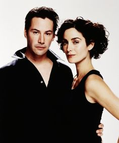 Keanu Reeves & Carrie-Anne Moss in The Matrix (1999). Dir: The Wachowski Brothers