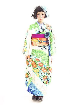 Coming of age kimono rental. Hair by Tsurezure Takashima Dali Hair Design