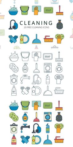 We publish Cleaning Vector Free Icon Set Doodle Drawings, Easy Drawings, Doodle Art, Vector Icons, Vector Free, Icon Design, Web Design, Flat Design, Cleaning Icons