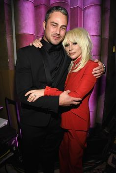 Fans were in for quite a surprise when news broke that Taylor Kinney and Lady Gaga ended their engagement in early July. Though the former couple initially had Cute Celebrity Couples, Cute Couples, Chicago Fire, Lady Gaga Engagement Ring, Engagement Rings, Couple Moments, Taylor Kinney, Dating Women, Bad Romance