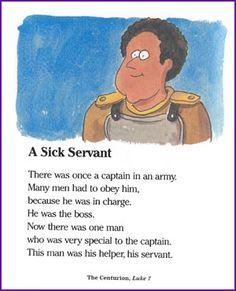 Jesus Heals Army Captain's Servant (Story) - Kids Korner - BibleWise
