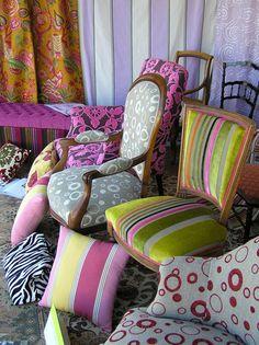 Quelle est le meilleur choix d'un tapissier d'ameublement pour chaise rétro- conseils de tissus originales et modernes; Trouvez nos idées