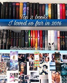 Buonasera unicorni! Come state passando questo sabato? Nel post di oggi, vi elencherò i tre libri che ho amato fino ad ora. Ne ho messi solo tre perché per le liste più lunghe, voglio aspettare alla fine dell'anno. Quindi, iniziamo!