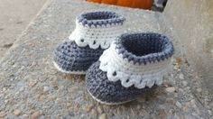 Check out this item in my Etsy shop https://www.etsy.com/listing/485157265/crochet-baby-boots-handmade-slippers