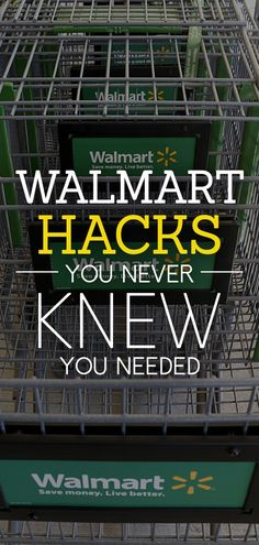 How to Hack Walmart and Save Money Check out the slides to come to see our Walmart hacks and put some money back into your wallet.Check out the slides to come to see our Walmart hacks and put some money back into your wallet. Renewable Energy, Solar Energy, Solar Power, Simple Life Hacks, Garage Organization, Garage Storage, Organization Ideas, Ways To Save, Shopping Hacks