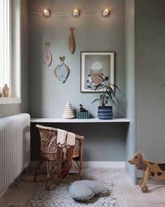my scandinavian home: Green and Pink Accents in a Beautiful Swedish Family Home Kid Room Decor, Kids Interior Room, Kids Room Design, Cheap Home Decor, Room Inspiration, Kids Room, Bedroom Decor, Room Decor, Room Interior