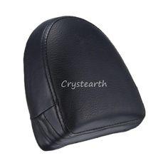 Synthetic Leather Backrest Sissy Bar Cushion Pad Fit For Harley Davidson VRSC V-Rod VRod 2002 - 2006