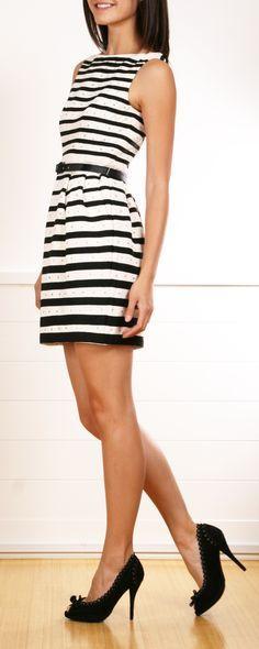 nanette lepore striped dresses - Google Search