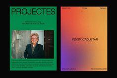 Deriva by Réplica Cultural Criticism, Brutalist Design, New Readers, Poster Layout, Digital Magazine, Editorial Design, Brand Identity, Branding, Web Development
