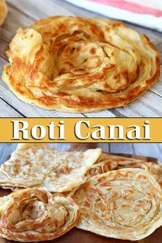 Authentic Malaysian flatbread recipe or famously known as roti canai. Fluffy and soft with crispy edges. This homemade roti canai is very easy to prepare. Malaysian Cuisine, Malaysian Food, Malaysian Recipes, Sicilian Recipes, Indian Food Recipes, Sicilian Food, Roti Canai Recipe, Thai Roti Recipe, Roti Recipe Easy