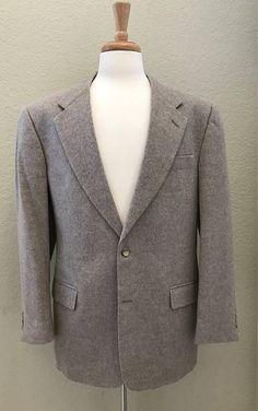 Terzo Uomo Light Tan 40R Men's Sport Coat Blazer