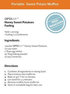 Portable Sweet Potato Muffins