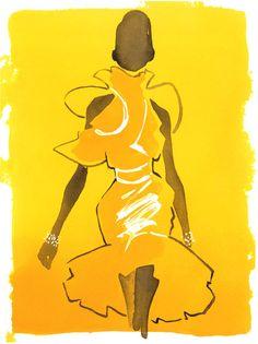 Eduard Erlikh I Fashion Illustration