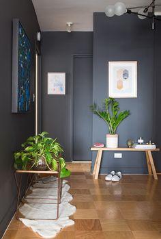 Apartamento En Ny Diseñado Por Tali Roth De Homepolish Entryway Paint Colorswall