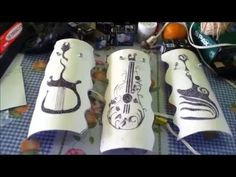 Dremel Tool Projects, Pvc Pipe Projects, Pvc Pipe Crafts, Diy And Crafts, Creative Gifts For Girlfriend, Lampe Tube, Handmade Lamps, Scroll Pattern, Paper Flower Backdrop