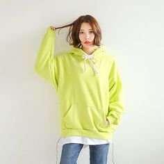Buy Seoul Fashion Drop-Shoulder Hooded Pullover at YesStyle.com! Quality products at remarkable prices. FREE WORLDWIDE SHIPPING on orders over CA$45.