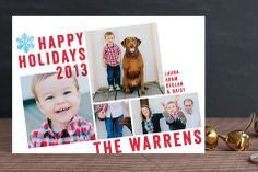Breaking the Grid Christmas Photo Cards by Aspacia Kusulas at minted.com