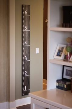 Jumbo Ruler -or- A Growth Chart
