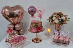 Pink Happy Birthday, Birthday Cake For Mom, Birthday Goals, Fabulous Birthday, 22nd Birthday, Husband Birthday, Diy Birthday, Birthday Party Decorations, Birthday Parties