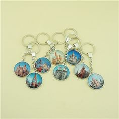 World map globe keychain earth keychain globe keychain map glass key chain with single side printing moscow view gumiabroncs