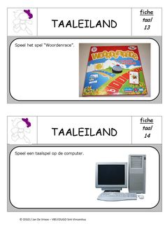 Taaleiland opdrachten 7 Spelling, Classroom, Archipelago, Index Cards